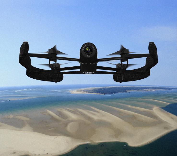 Το εντυπωσιακό ρομποτικό Parrot AR.Drone 3.0…