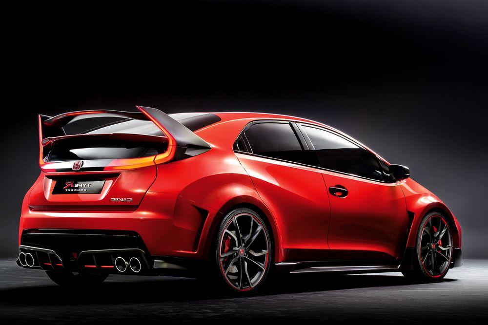 honda civic type r 2015 revealed in geneva prices pics. Black Bedroom Furniture Sets. Home Design Ideas
