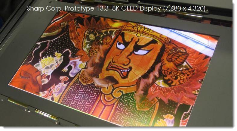 13.3αρα OLED οθόνη με 8K ανάλυση για Notebooks;!