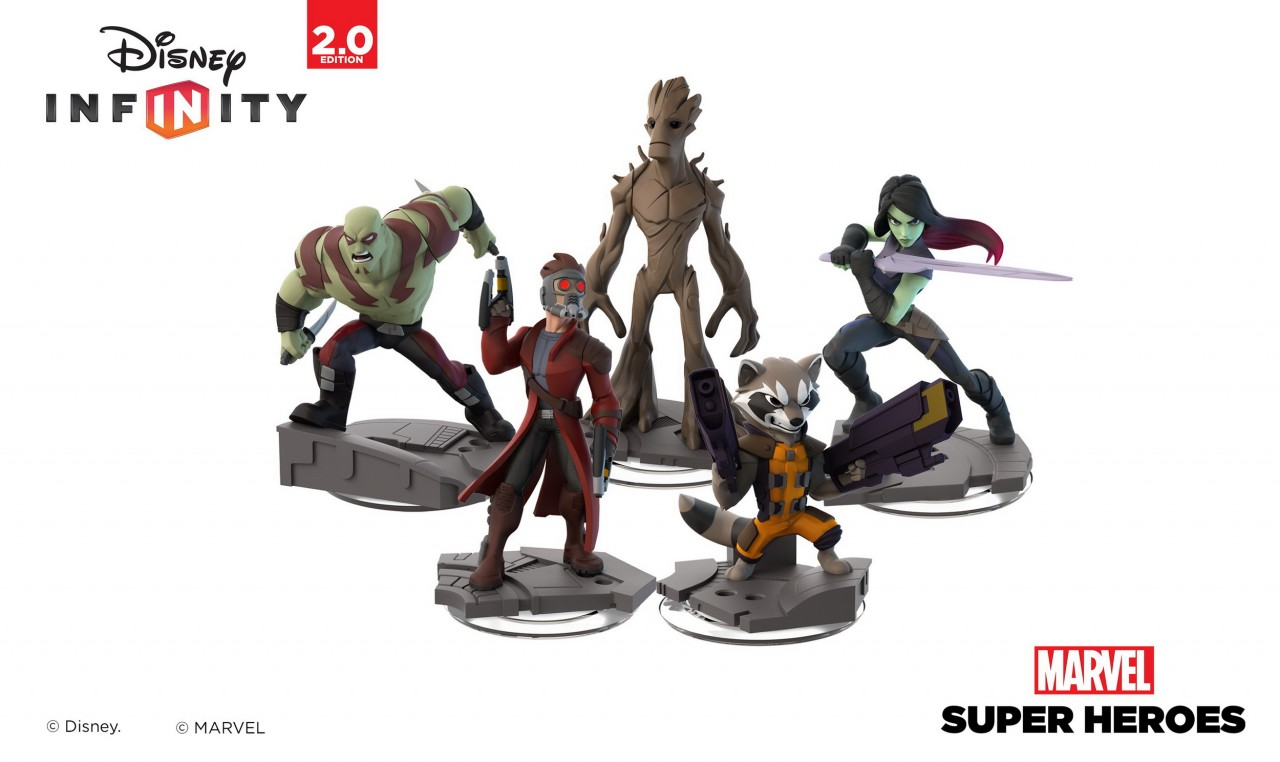 Guardians of the Galaxy + Disney Infinity: Marvel Super Heroes