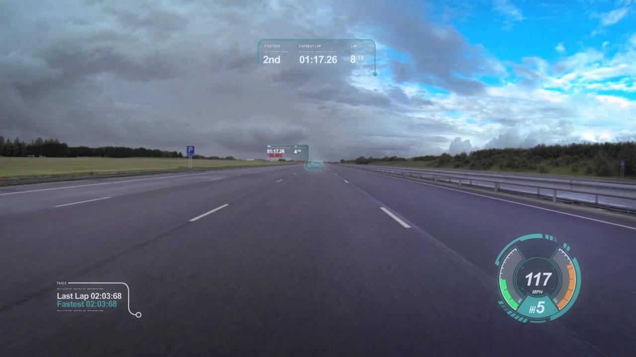 Virtual Windscreen Concept