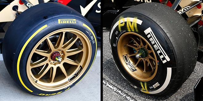 Τα ελαστικά που μας φέρνει η F1…