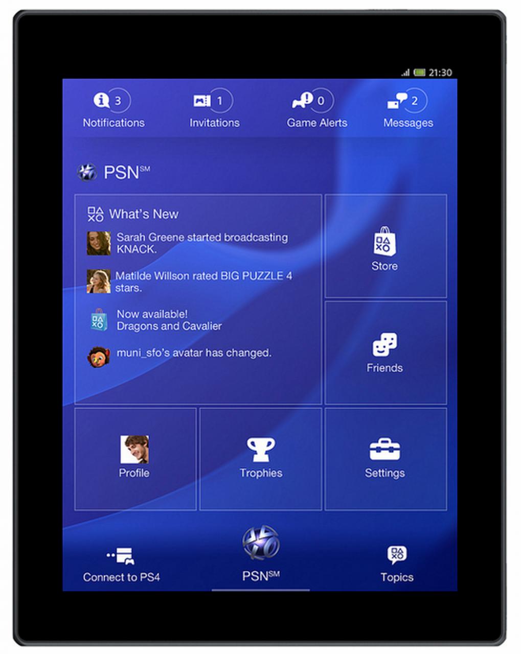 PlayStation App για το Android – αναβάθμιση…