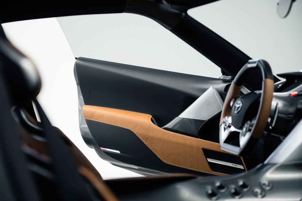Toyota FT1 inside 2