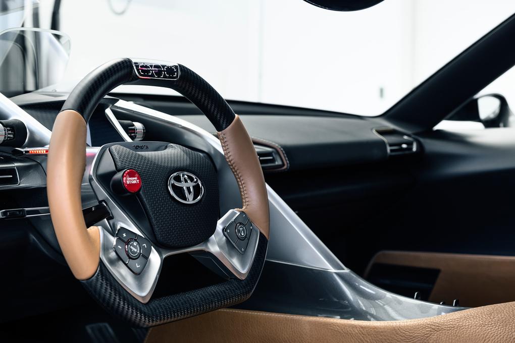 Toyota FT1 inside 3