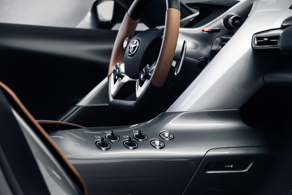 Toyota FT1 inside