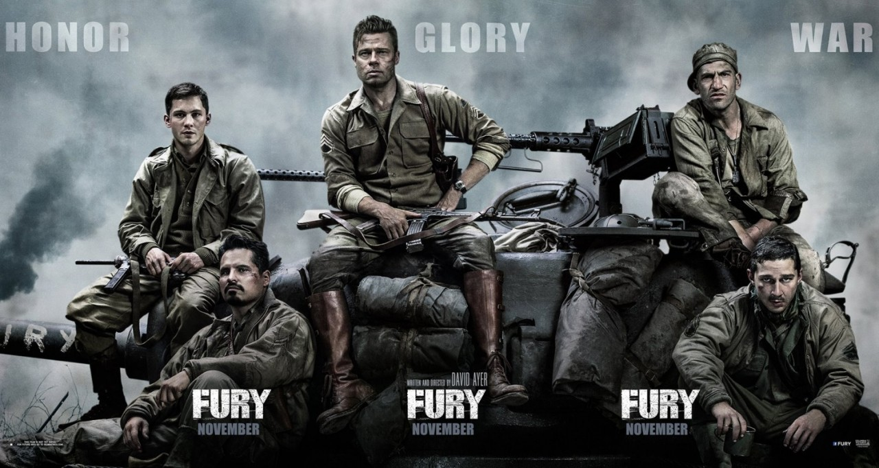 Fury Official Trailer #2