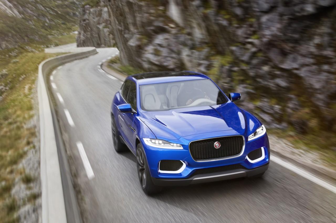 Jaguar SUV;