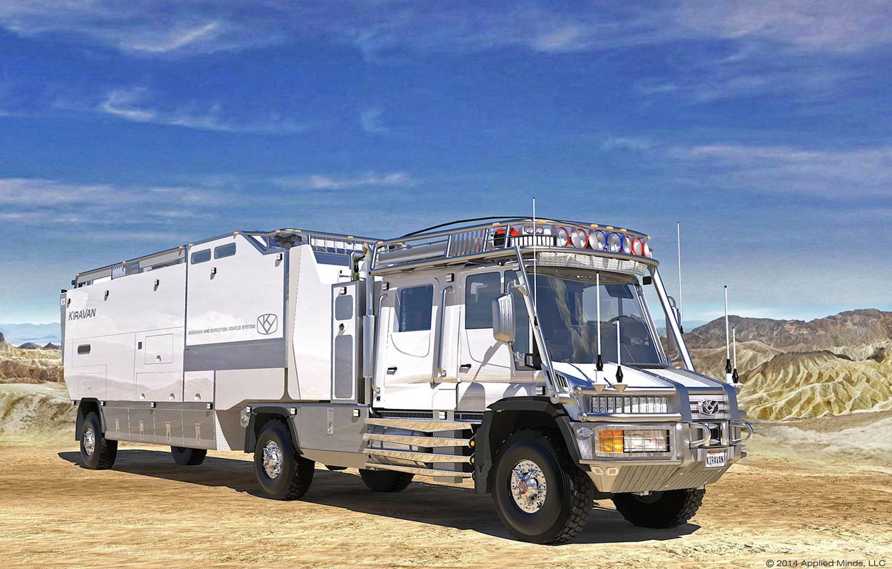 """KiraVan"" Mercedes Unimog Ultimate Expedition Vehicle"