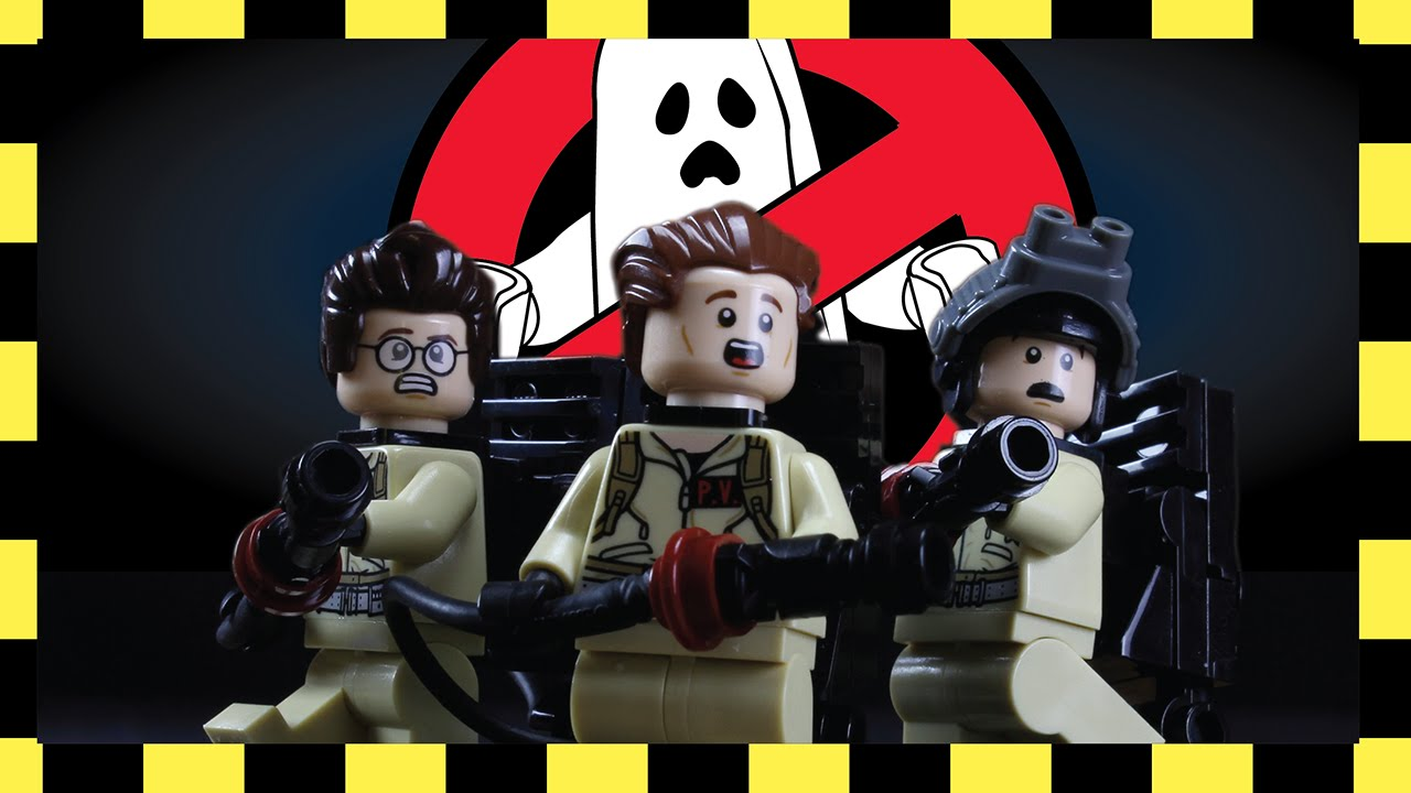 Ghostbusters' Stop-Motion Lego