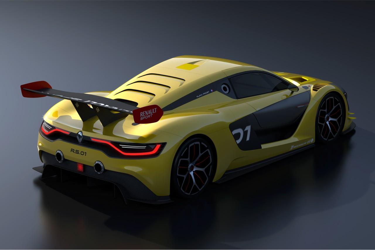 Renault Sport R.S. 01 Racecar