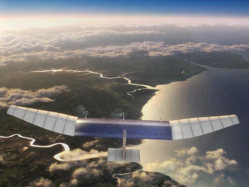 Facebook Solar-Powered Internet Drones – όλοι με ρομποαεροσκάφη;