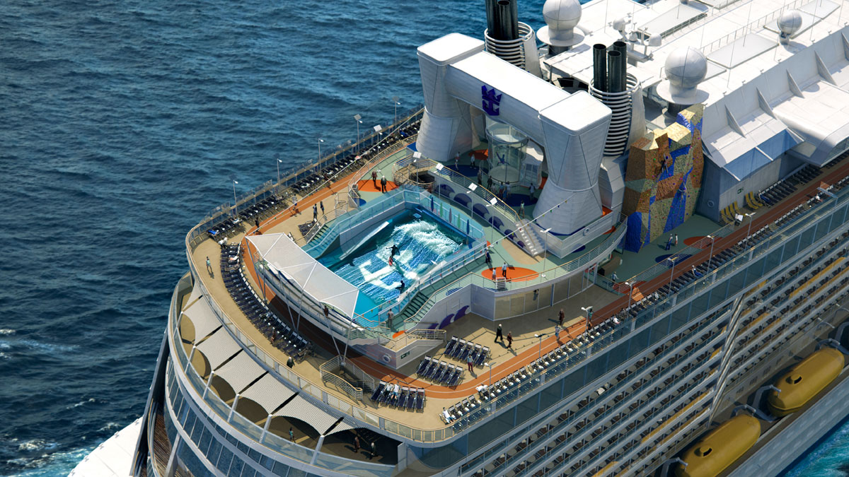 Royal Caribbean has released details on the newest addition to its fleet set to sail next year, the Quantum of the Seas, an 18-deck ship that can carry 4,180 guests
