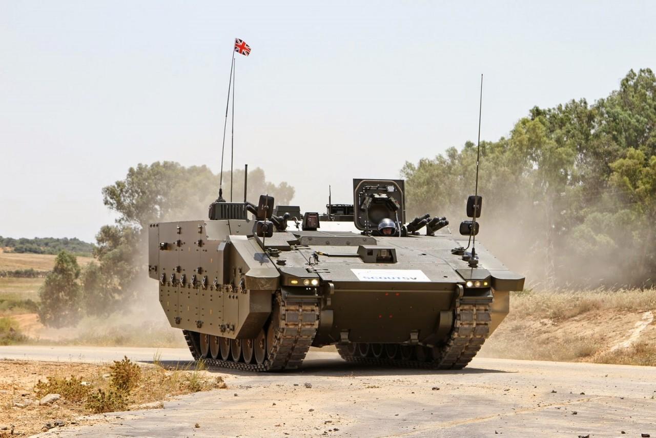 Το futuristic στρατιωτικό όχημα Scout Specialist Vehicles (SV)…