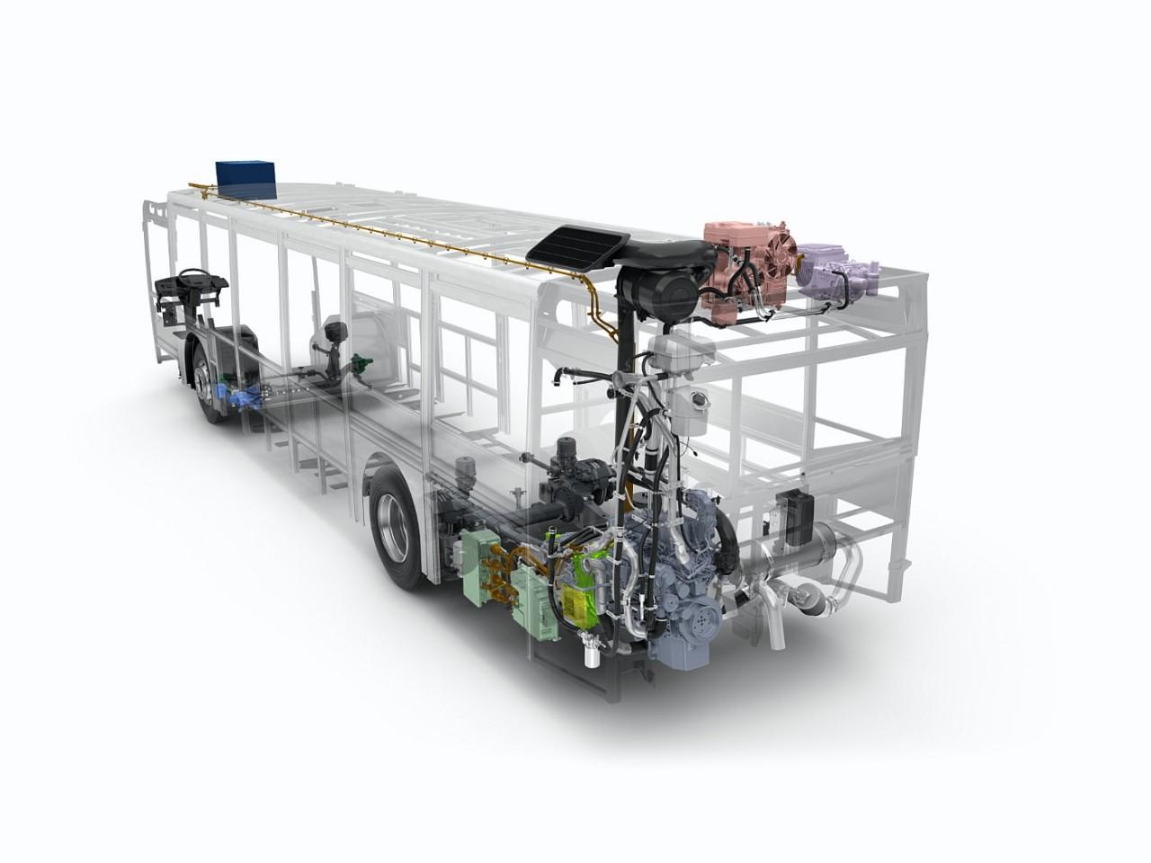 Volvo_7900_Hybrid_xray_2011