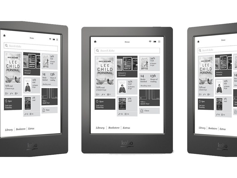 iFA 2014 – το αδιάβροχο e-reader Κobo Aura H20