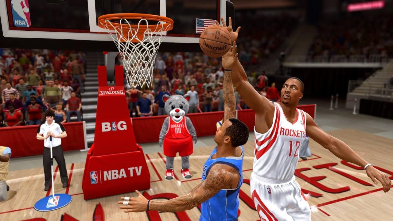 NBA Live 15 gameplay…