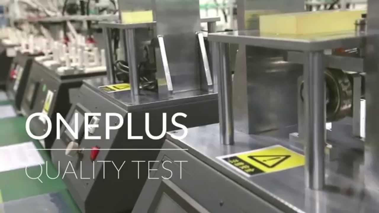 OnePlus – να πως δοκιμάζουνε τα κινητά…