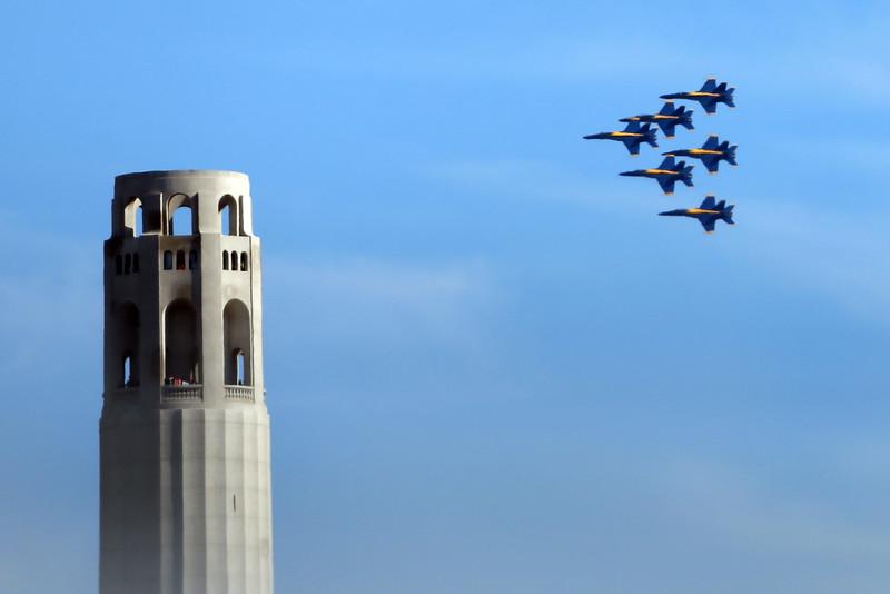 Navy Blue Angels Air Show – San Francisco Fleet Week