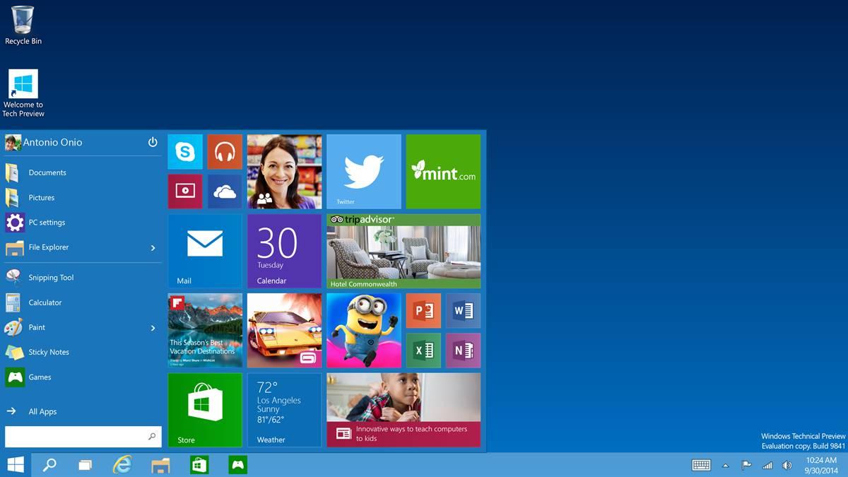 Windows 10 – επιστροφή;