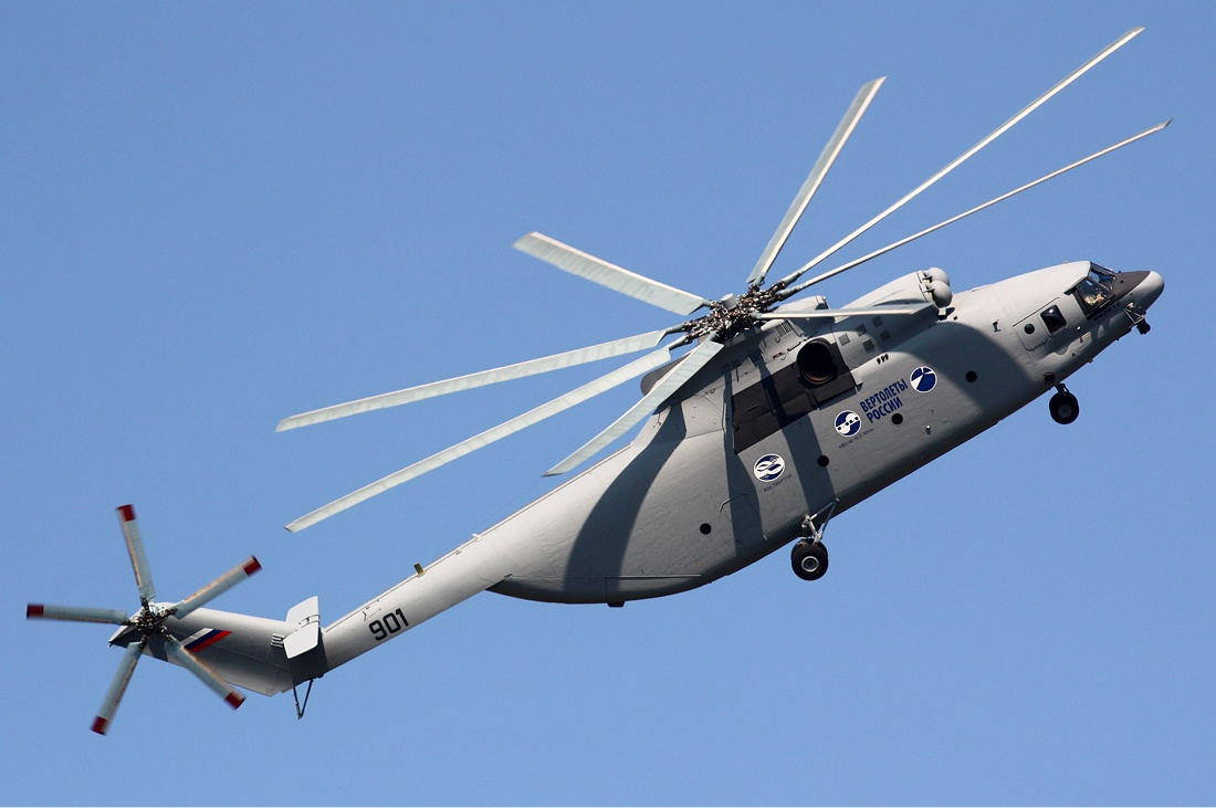 Mi-26T2 – το ελικόπτερο που σηκώνει 'βουνά'…