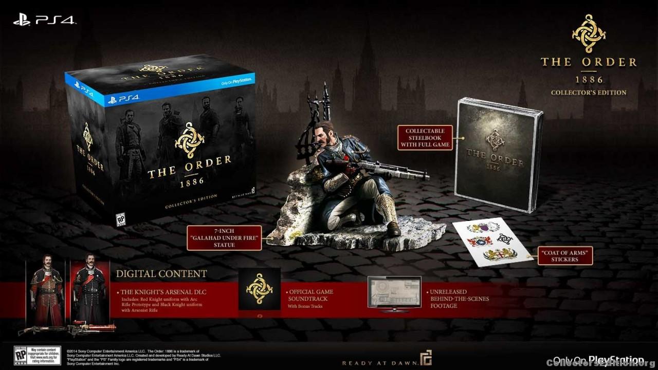 Τhe Order: 1886 – Collector's Edition για το PS4…