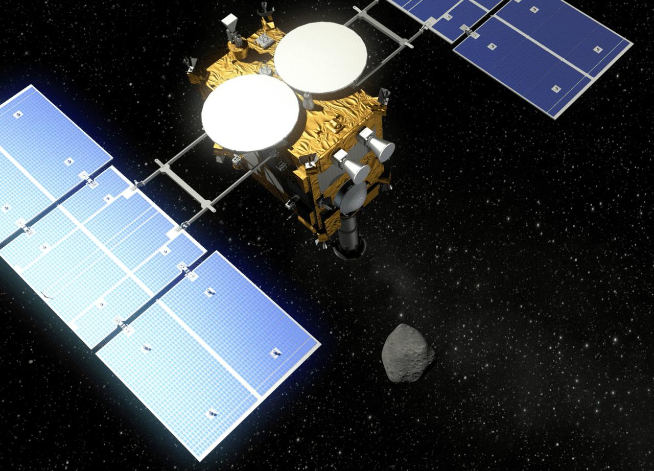 To ιαπωνικό σκάφος Hayabusa2 πάει για 'ραντεβού' με τον αστεροειδή 1999 JU3…