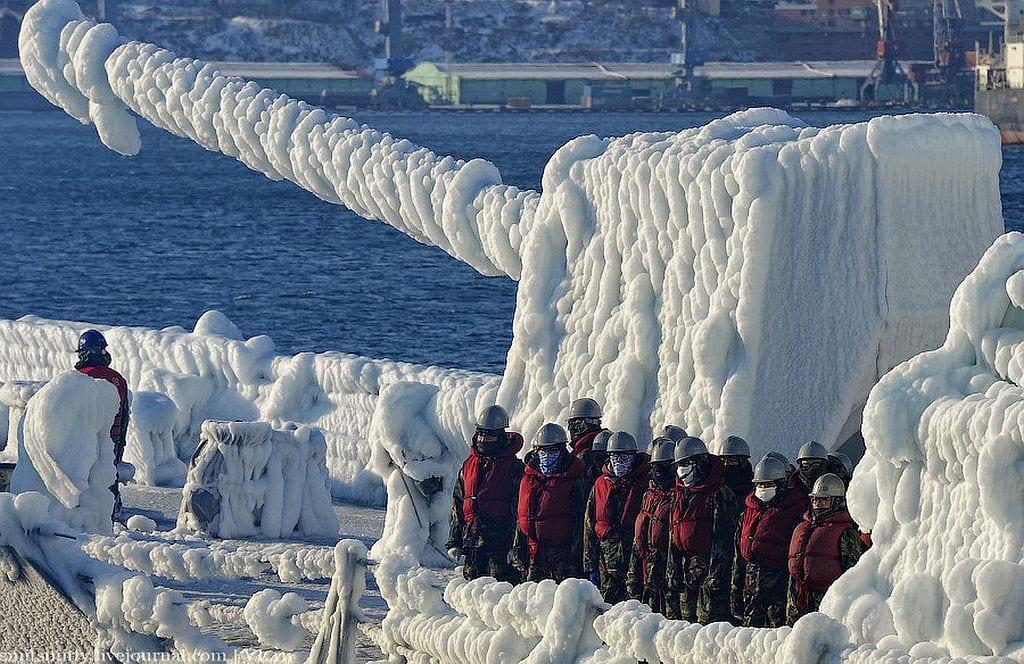 Πόσο κρύο κάνει στο Vladivostok;