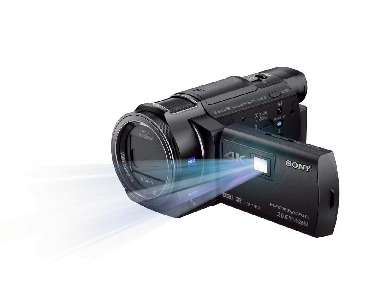 FDR-AX33_B_projector