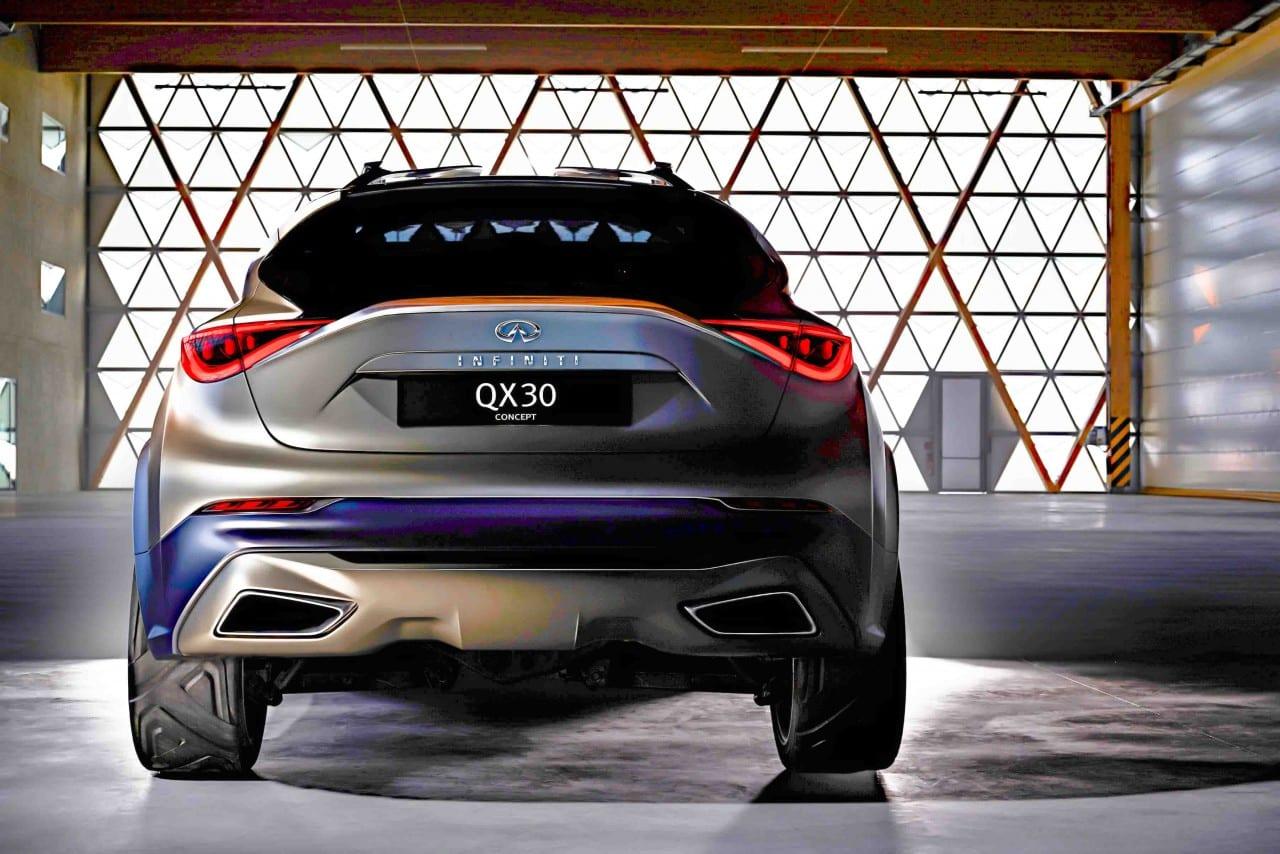 Geneva Motor Show – Infiniti QX30
