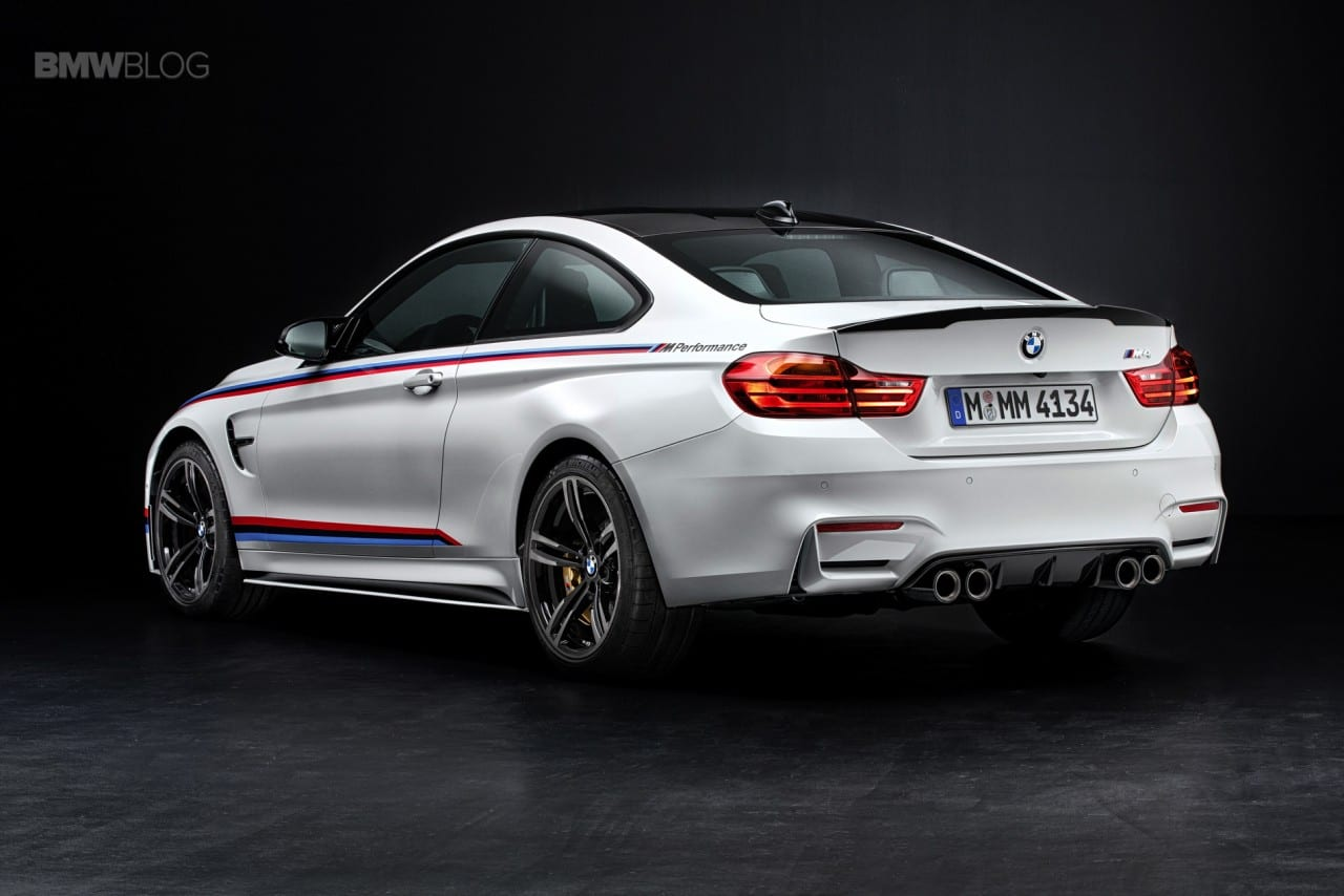 763207ad The Bavarian brand BMW, introducing its new M Performance Package Series 4