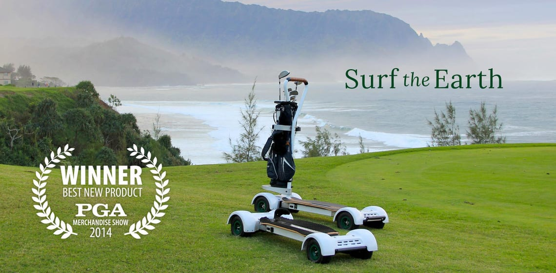Golfboard Electric Golf Scooter 2