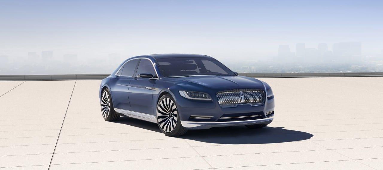 Lincoln Continental Concept Exterior