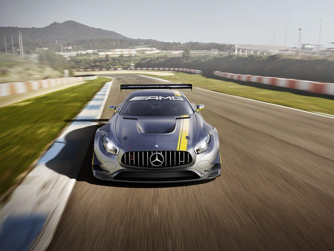 Geneva Motor Show – Mercedes AMG GT3