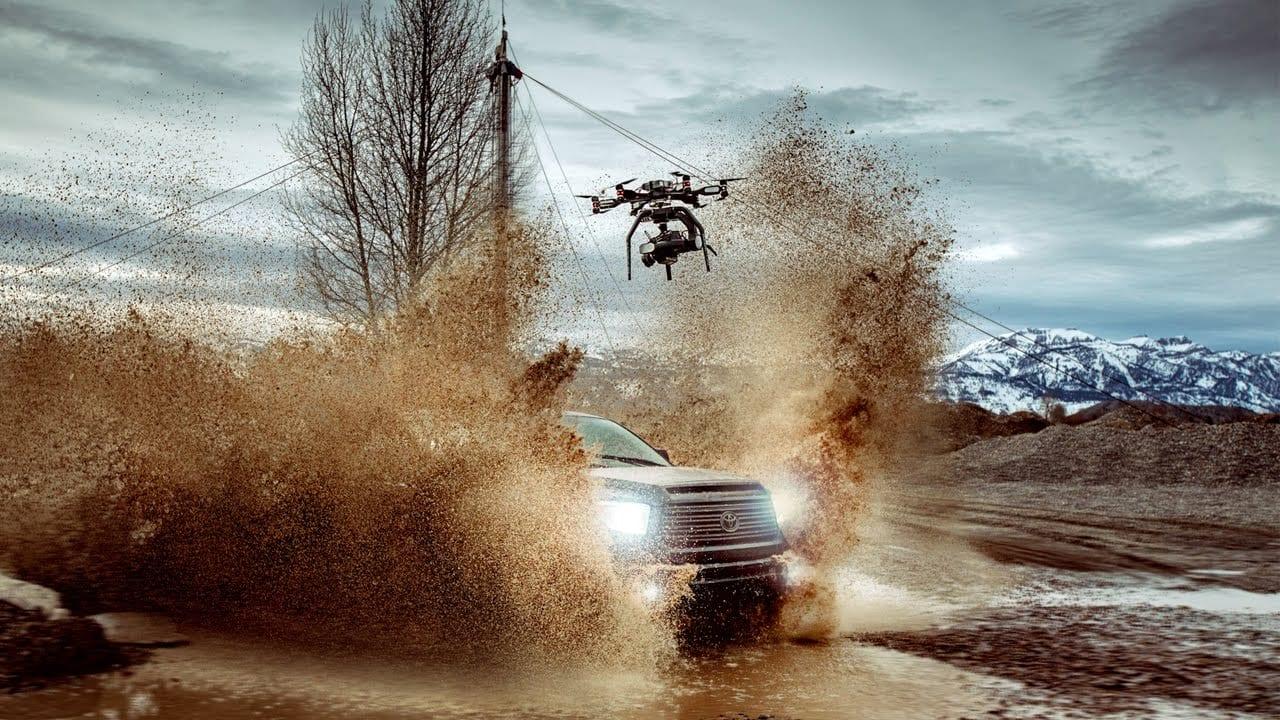 Phantom Flex4k κάμερα + Aerigon UAV drone = συγκλονιστιά 4Κ πλάνα σε slo mo..!