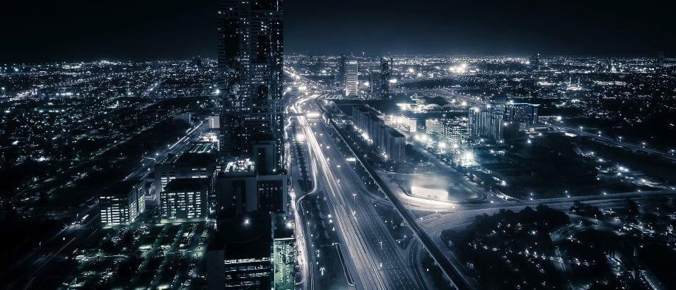 Neo-futuristic Dubai
