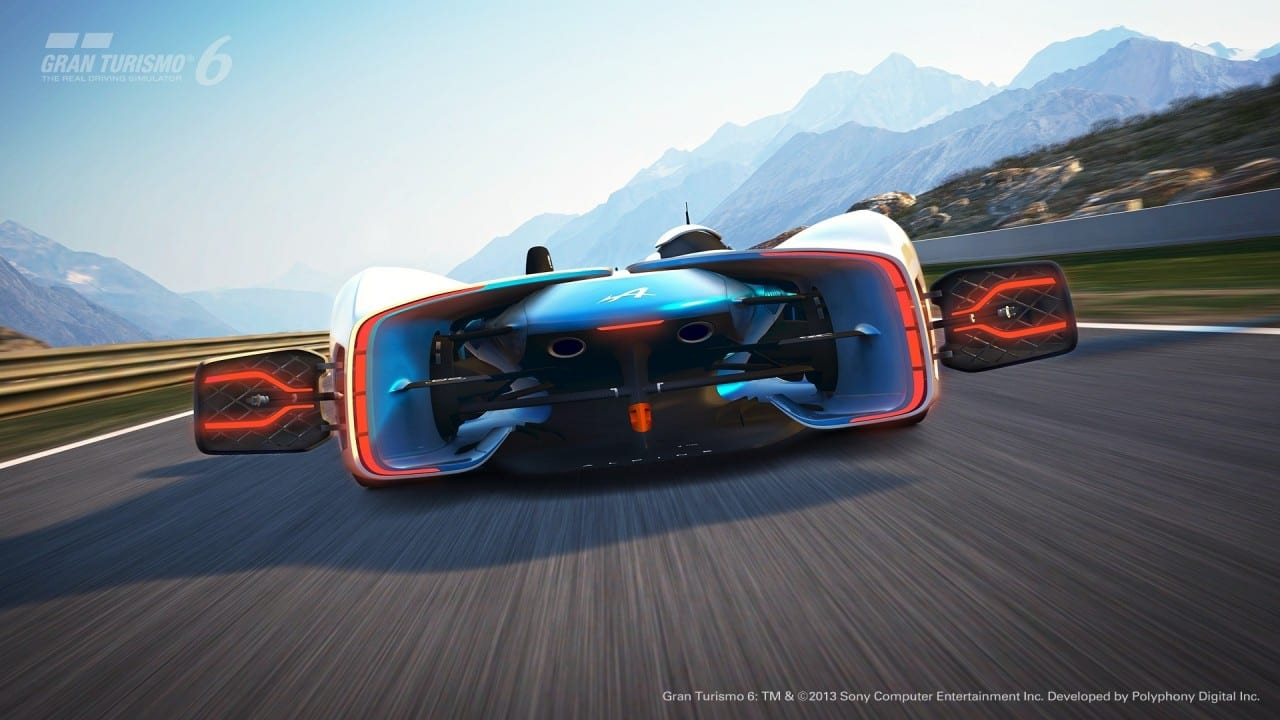 Alpine Vision Gran Turismo 2