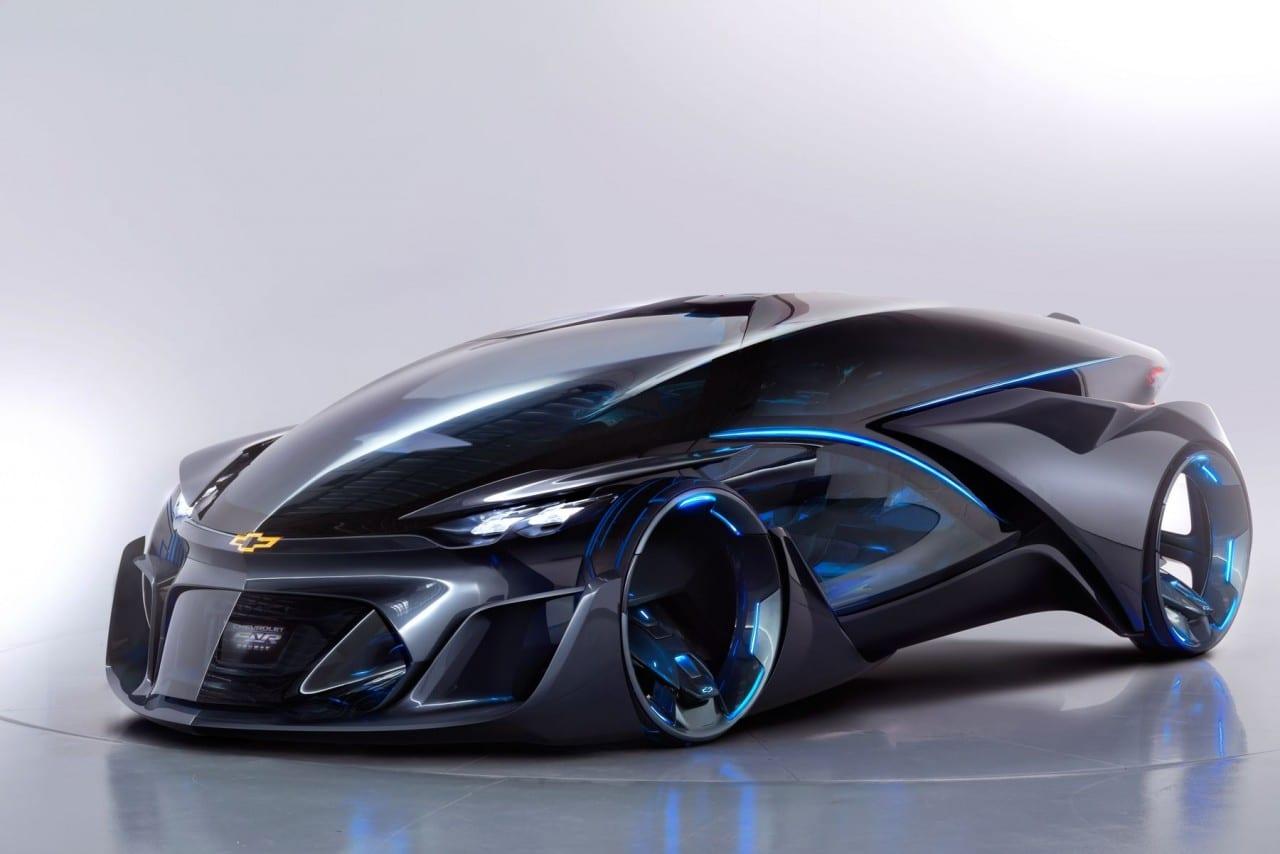 Chevrolet-FNR Autonomous EV Concept