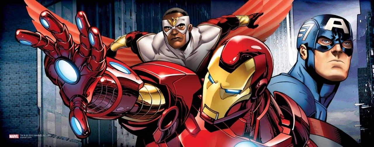 """Εμφάνιση Falcon στο """"The Avengers: Age Of Ultron"""";"""