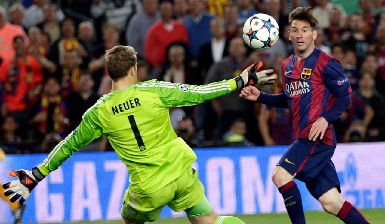 Lionel Messi Vs Bayern