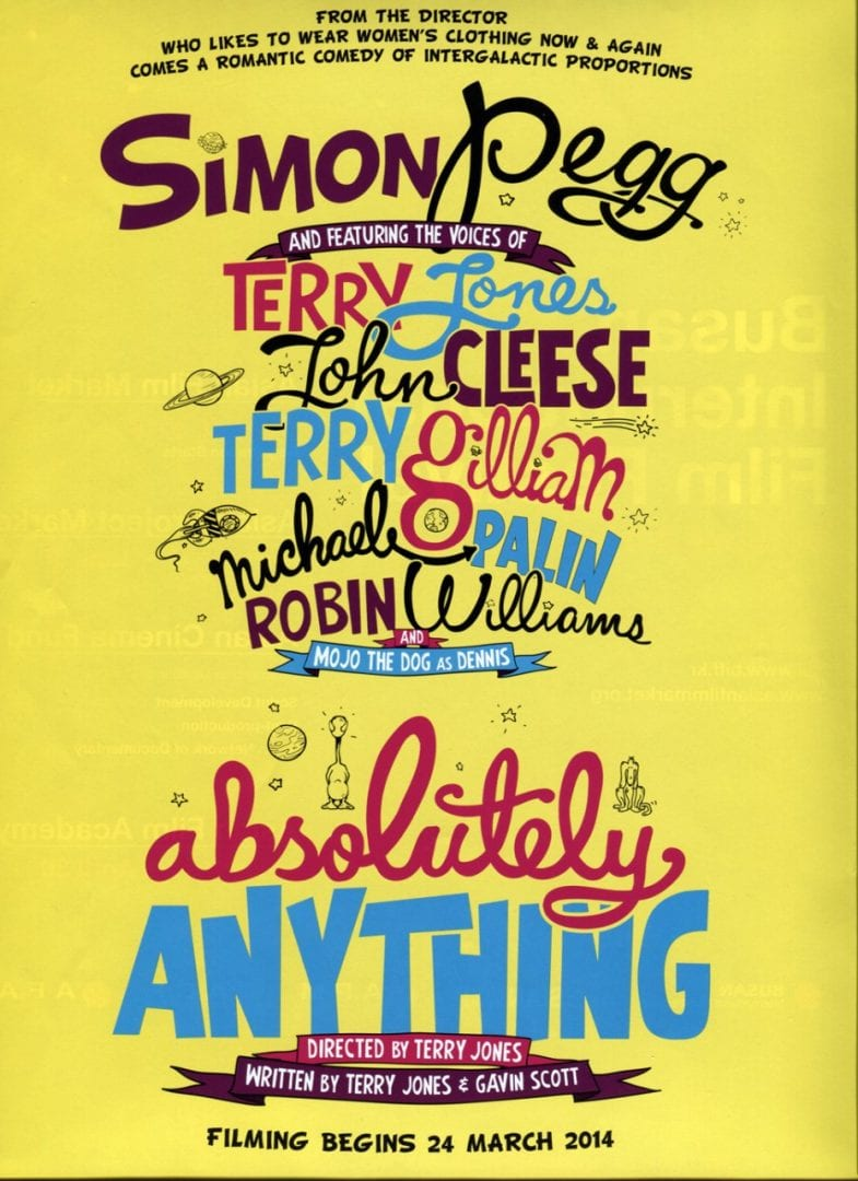 Absolutely Anything – Trailer #1