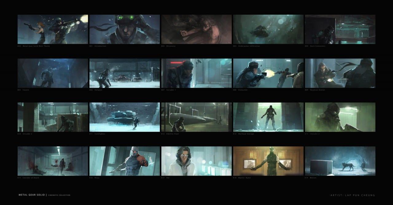 'Metal Gear Solid' Concept Scenes