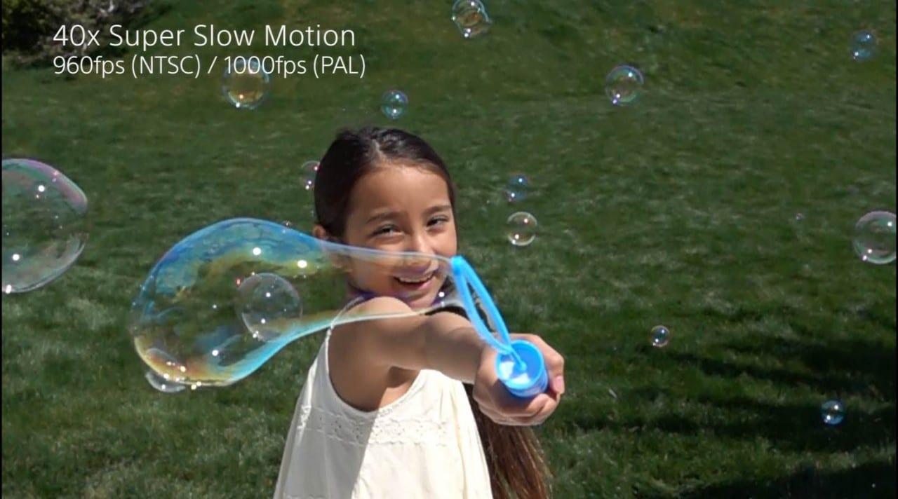 RX100 IV & RX10 II – Super Slow Motion Children Ver.2