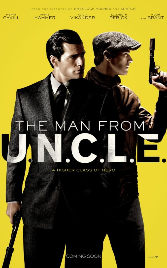 The Man From U.N.C.L.E. Official Comic-Con Trailer