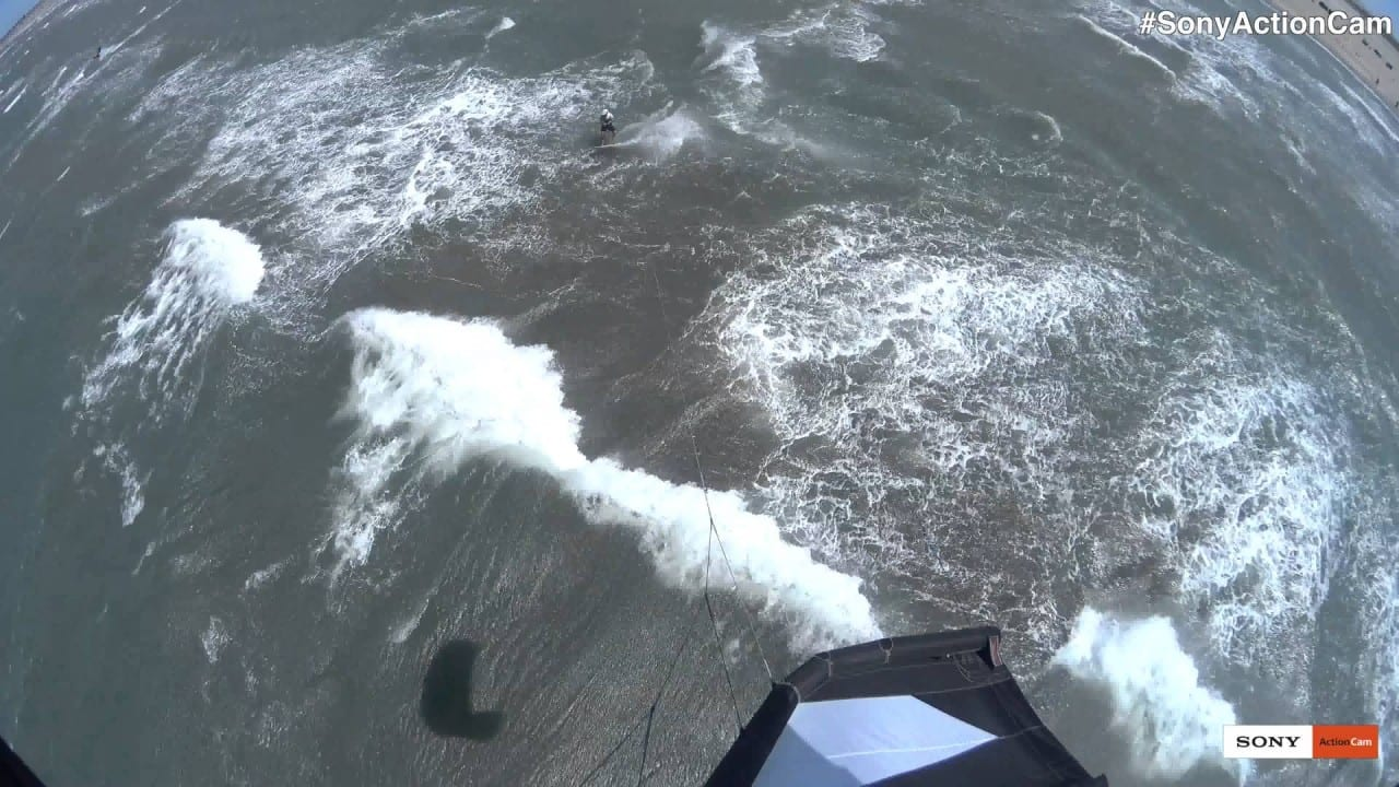 Action Cam – Kitesurf από άλλη γωνία…