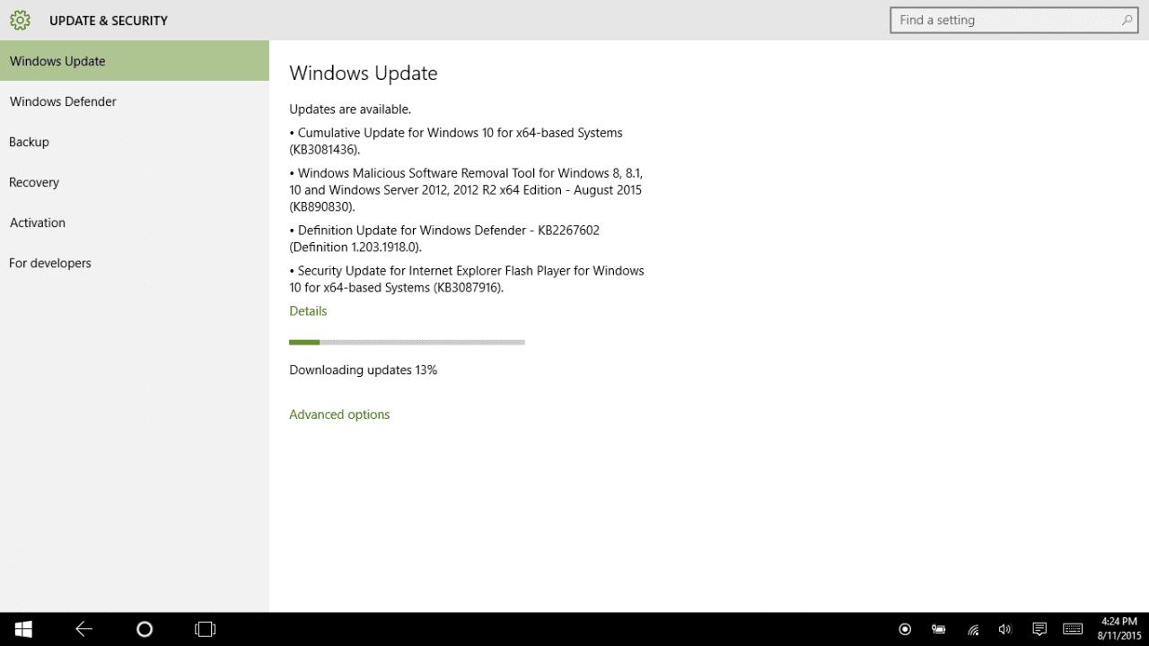 Λύση σε θέμα του υποχρεωτικού Windows 10 Update…