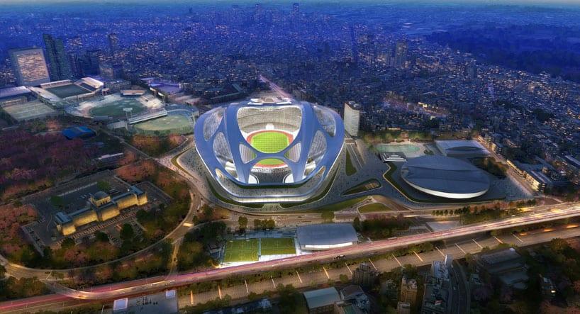ZAHA HADID – Tokyo 2020 Olympic Stadium