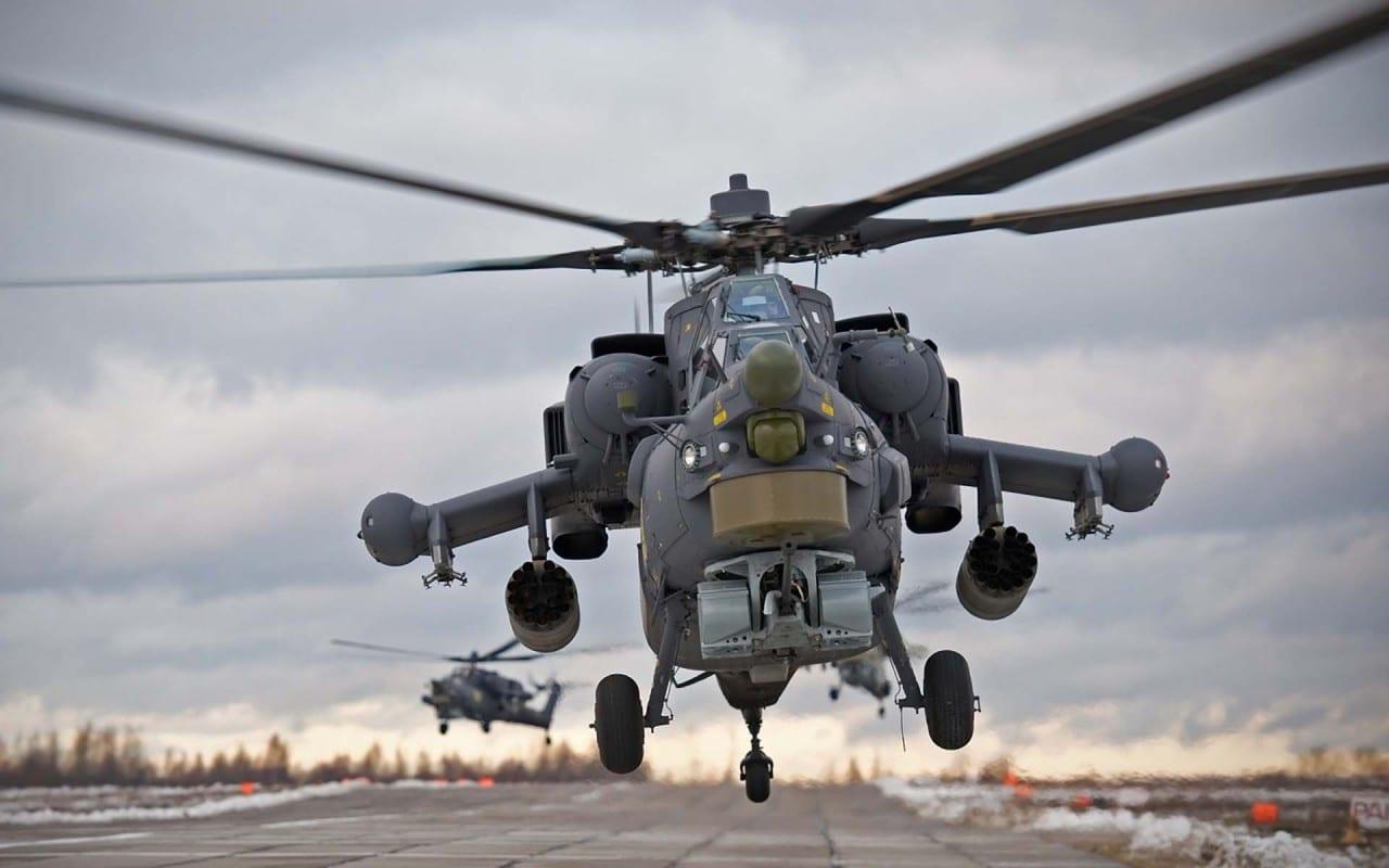 Συγκλονιστικό βίντεο – ένα ρωσικό Mi-28N σε ελεύθερη πτώση…