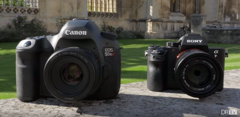 Canon 5Ds R vs Sony a7R II