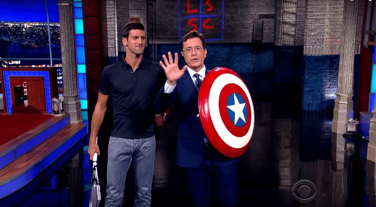 Stephen Colbert Vs Novak Djokovic
